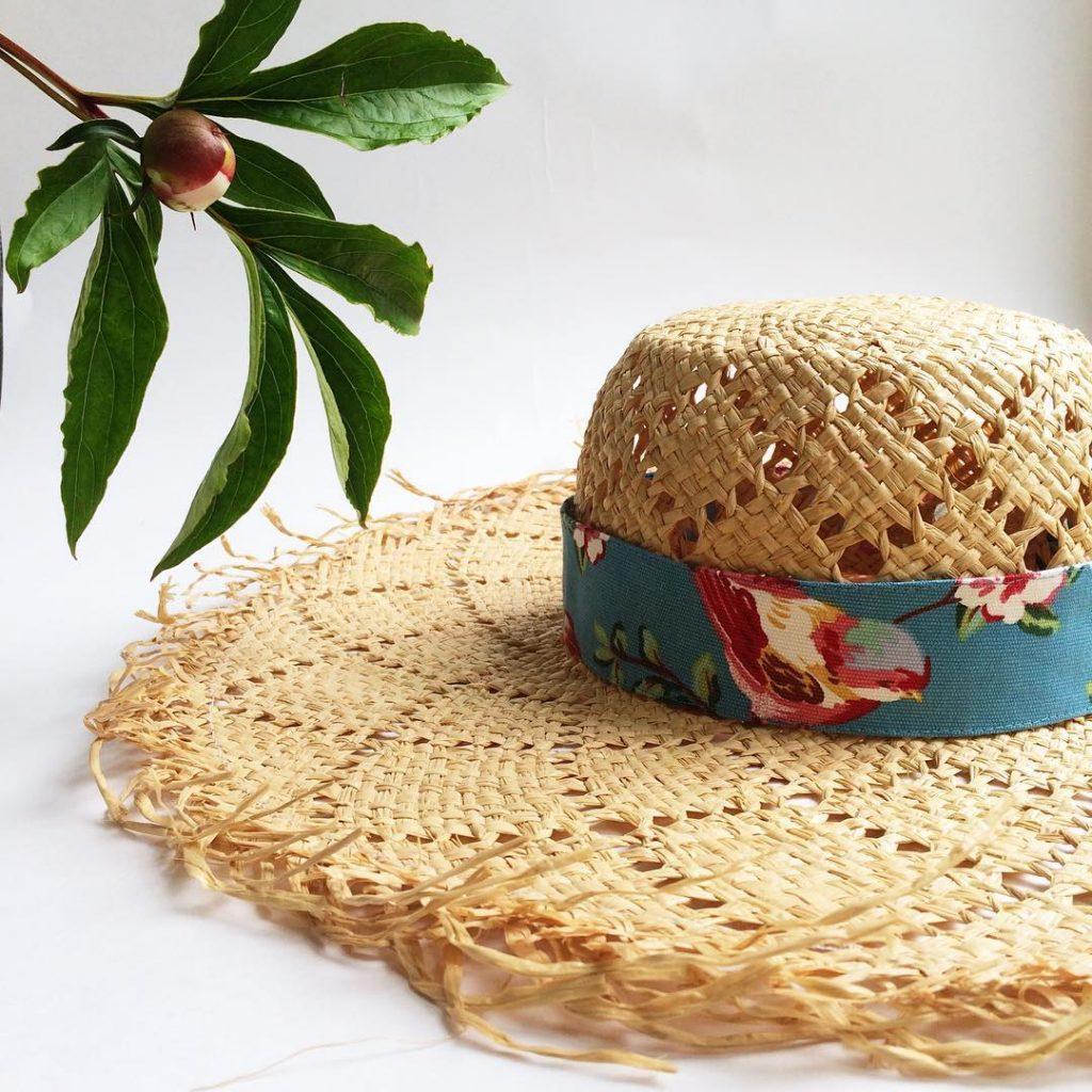 Соломенная шляпа valiumhats