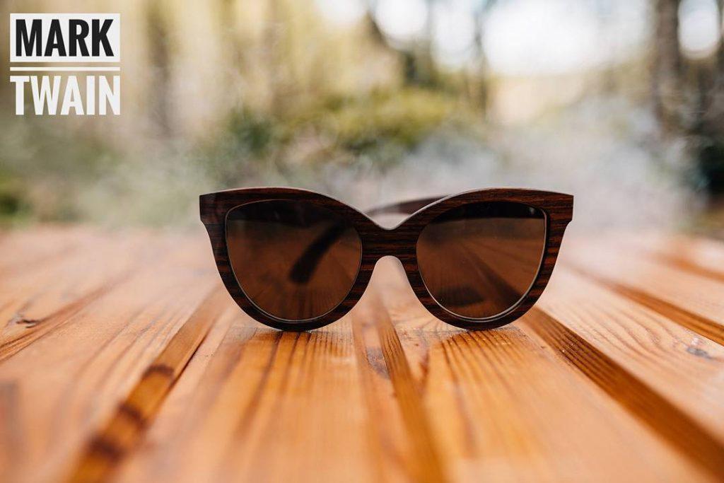 Очки с деревянной оправой mark.twain_handmade