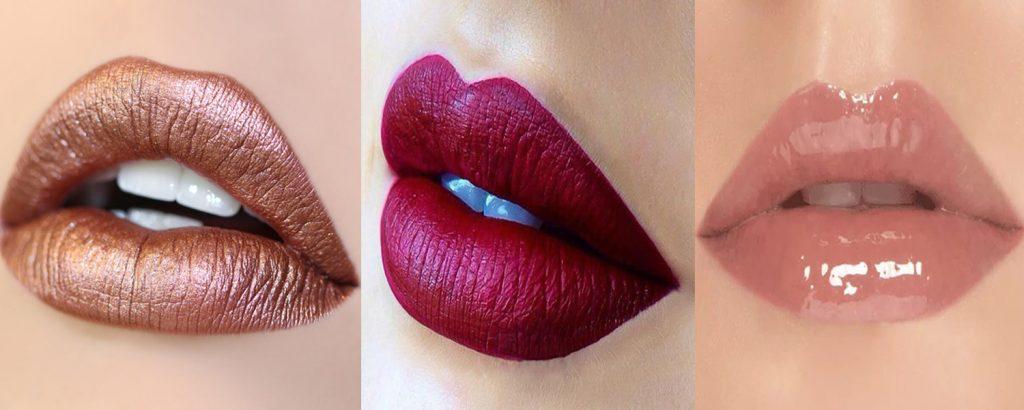 Сияющие губы