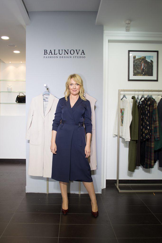 Balunova дизайнерская одежда