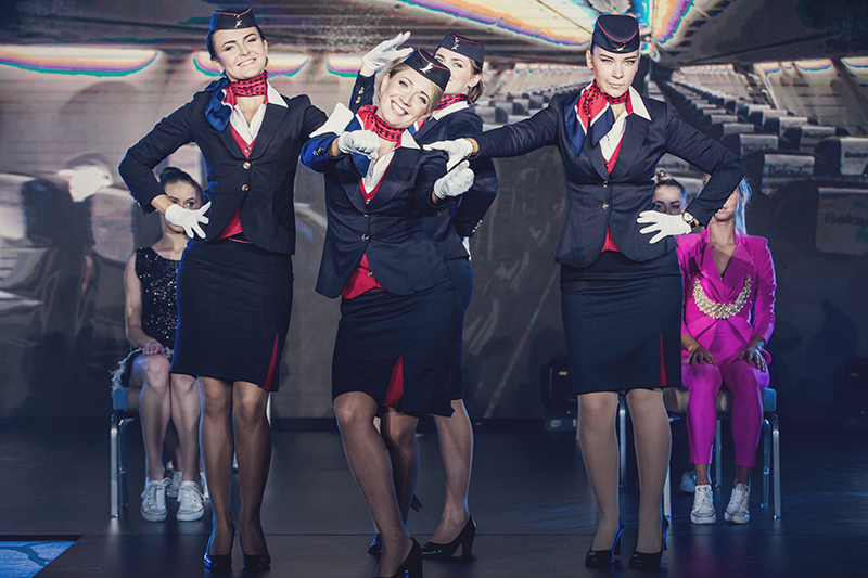 Belavia стюардессы