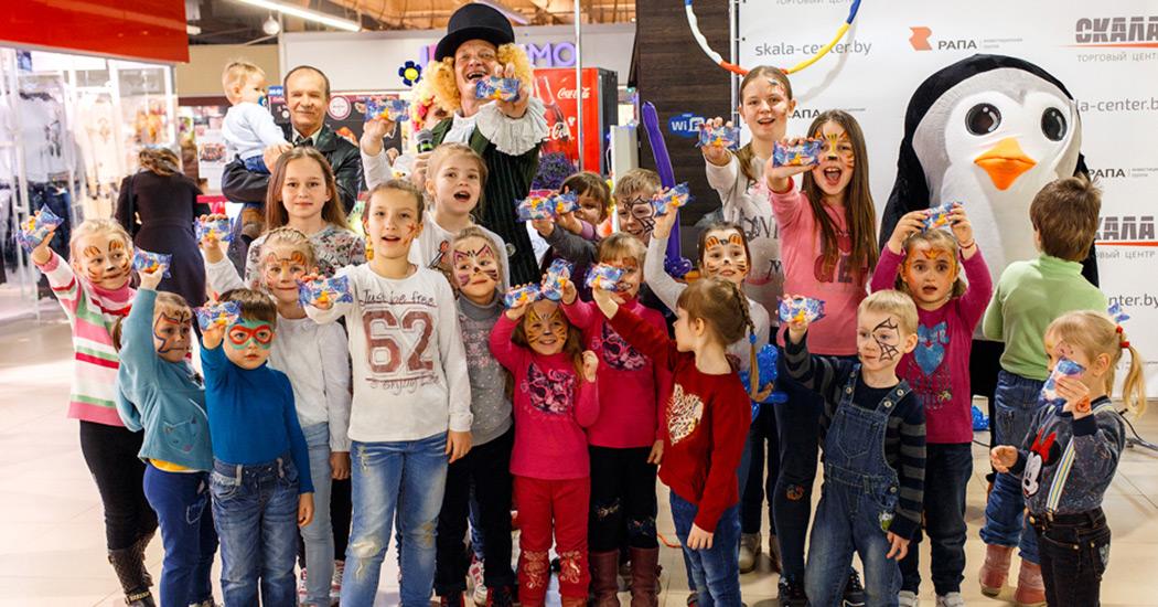 Детки-конфетки, Счастливые четверги, ТЦ Скала, детский праздник