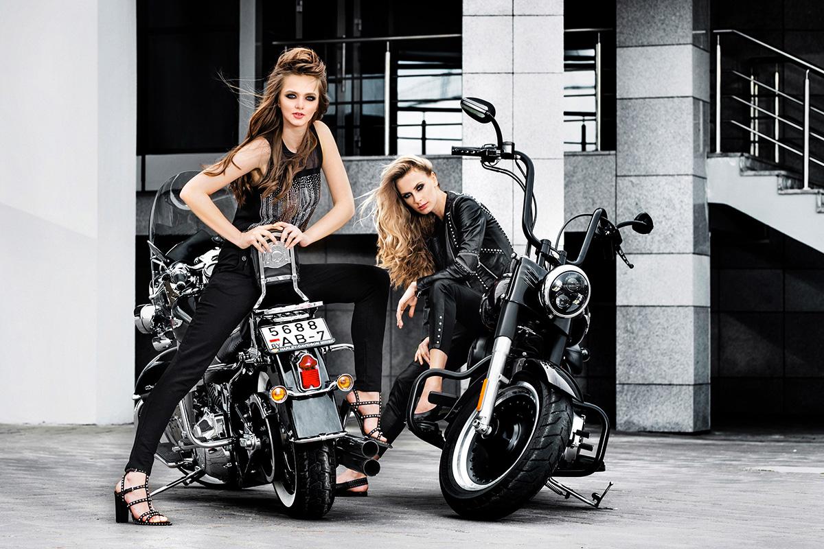 Небо. Мотоцикл. Девушки Lamoda 5