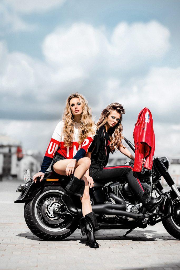 Небо. Мотоцикл. Девушки Lamoda 1