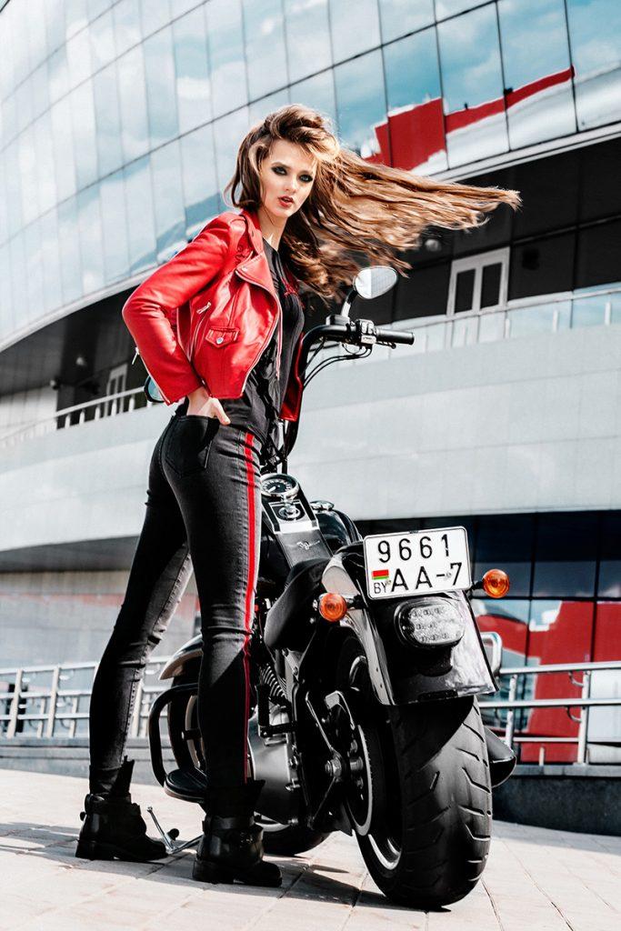 Небо. Мотоцикл. Девушки Lamoda 3