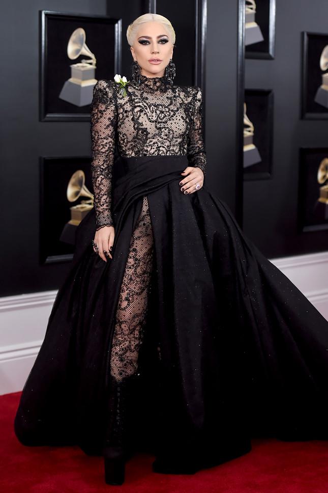 Леди Гага в Armani Prive