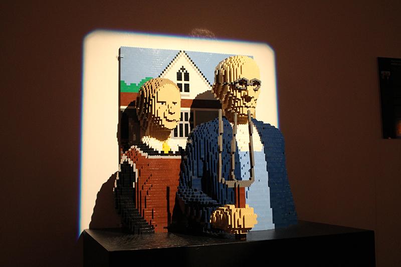 выставка лего галереяминск