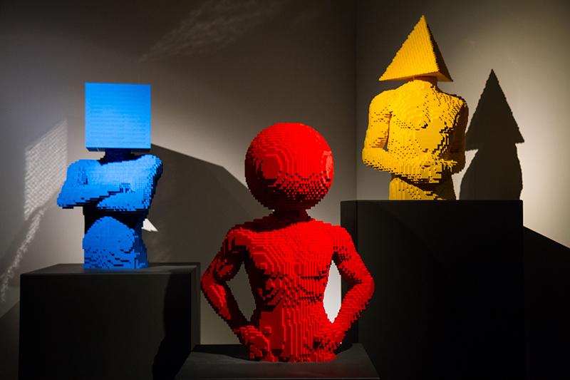 Главная выставка года: The Art of the Brick. ИСКУССТВО ЛЕГО! 1