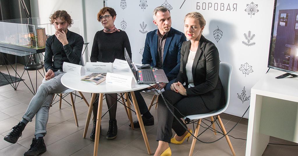 Пресс-конференция Новая Боровая