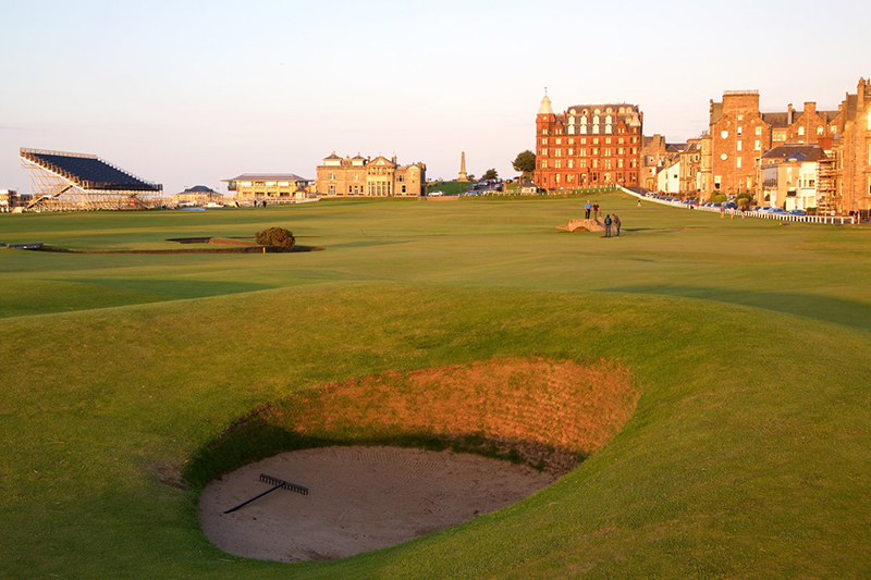 Шотландия, St. Andrews Links