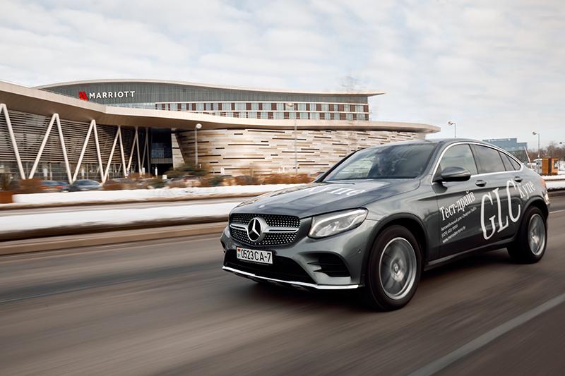 Женский тест-драйв Mercedes-Benz GLC Coupe 2