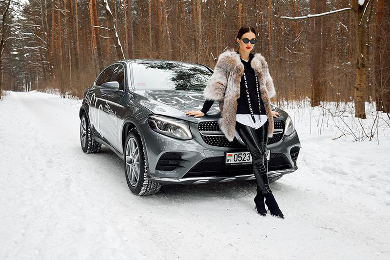 Женский тест-драйв Mercedes-Benz GLC Coupe 4