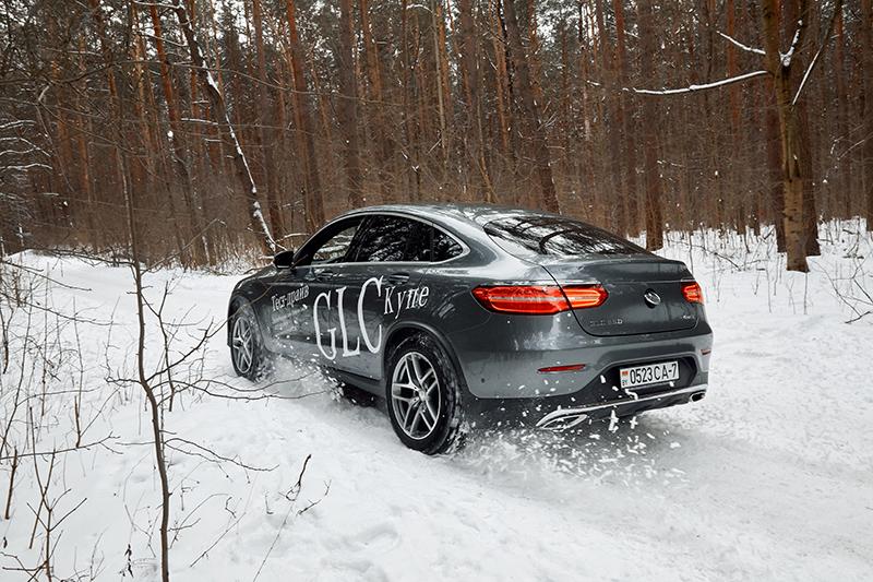 Женский тест-драйв Mercedes-Benz GLC Coupe 5