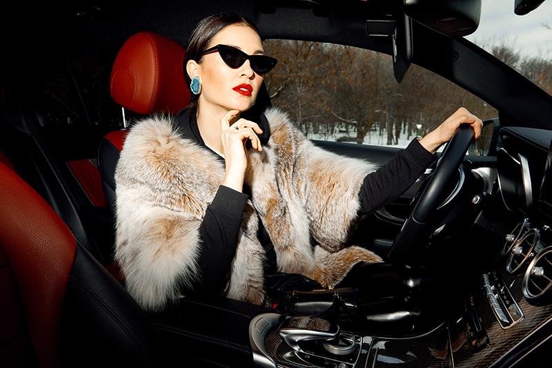 Женский тест-драйв Mercedes-Benz GLC Coupe 3