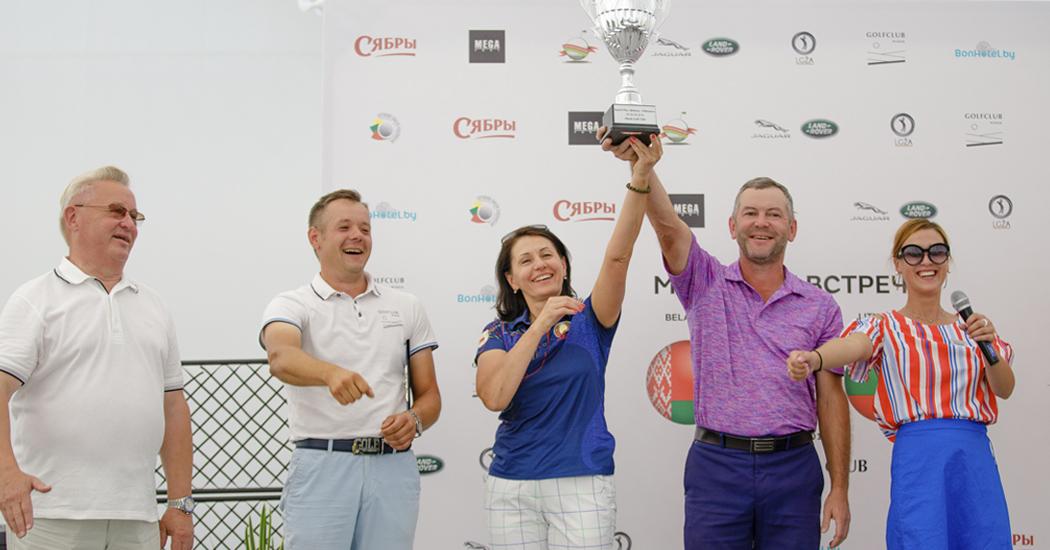 Матчевая встреча гольфистов Литвы и Беларуси