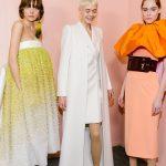 Чистые оттенки и многослойные образы в кутюрной коллекции Givenchy