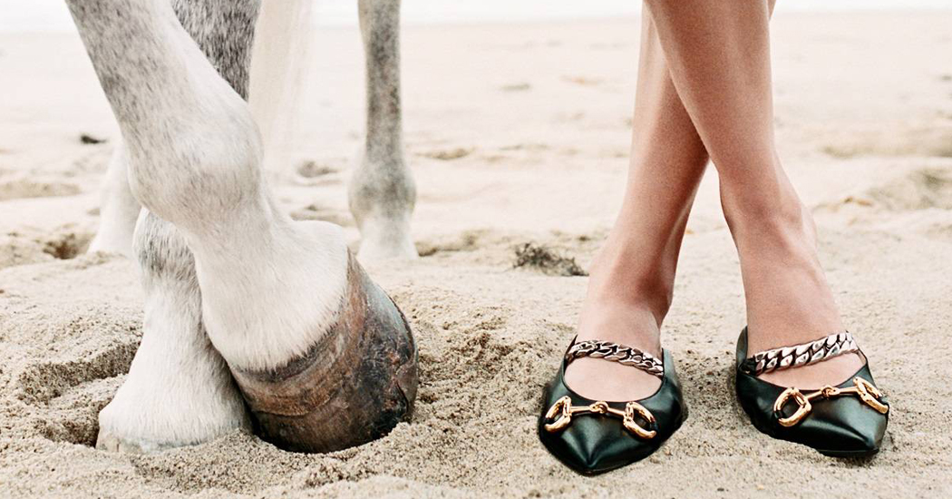Лошадь стала главным героем рекламной кампании Gucci