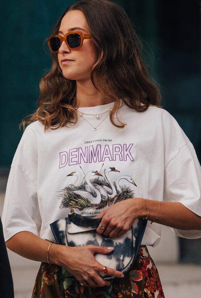 Street-style Недели моды в Копенгагене