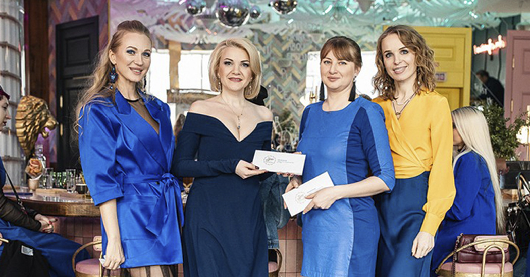 Фоторепортаж: PRETAPORTAL Fashion Coffee в цвете classic blue