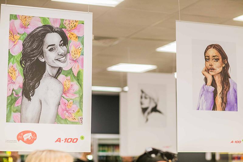 выставка иллюстратора и показ Кардаш