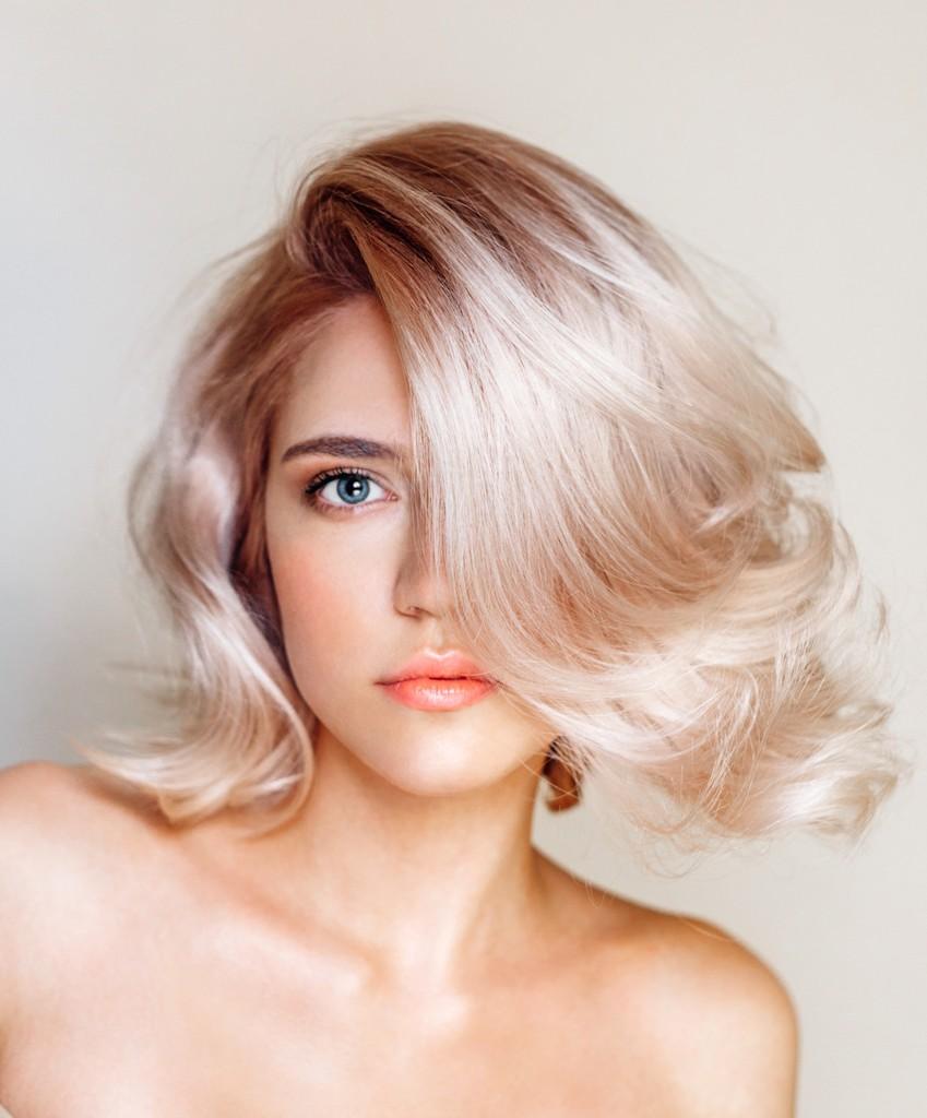 окрашивание блонд от Nak