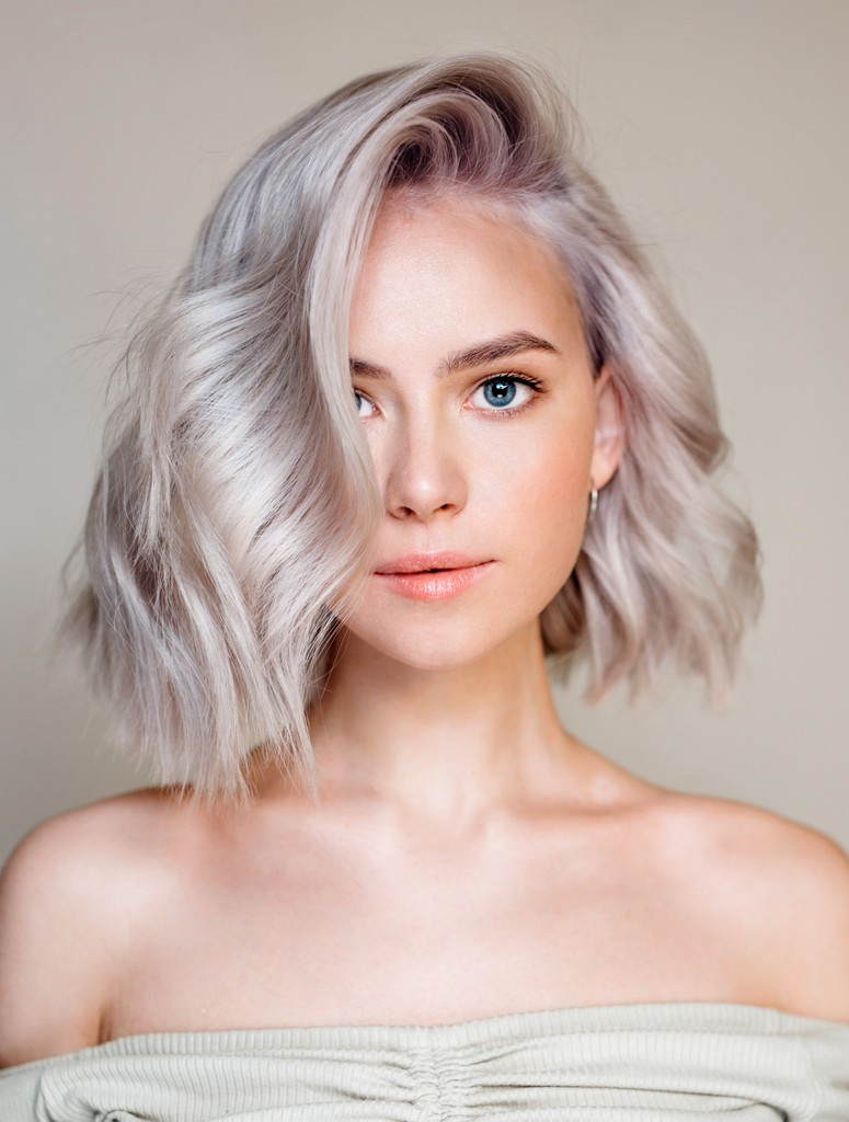 Цвет из палитры блонд от Nak