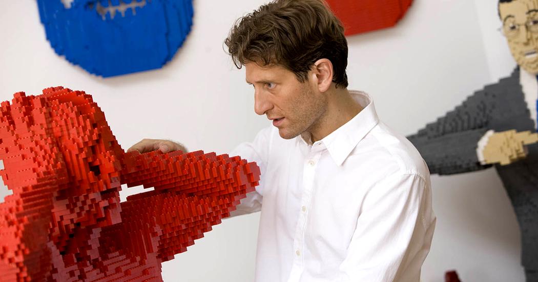 Первые посетители выставки «The Art of the Brick. Искусство Лего» в Минске 1