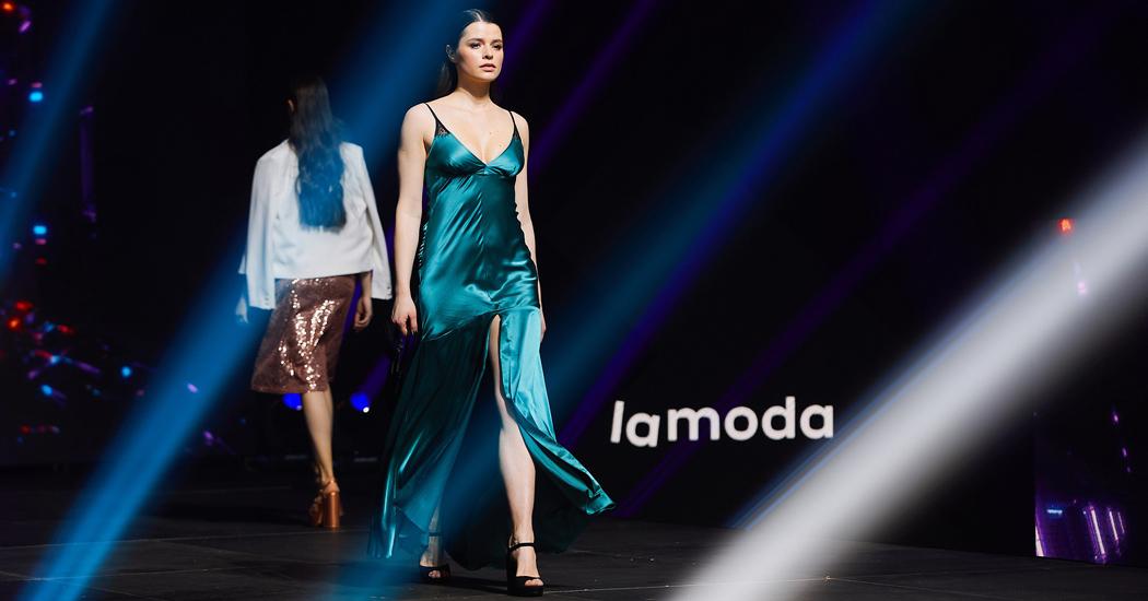 Brands Fashion Show   Lamoda показ праздничных образов 1