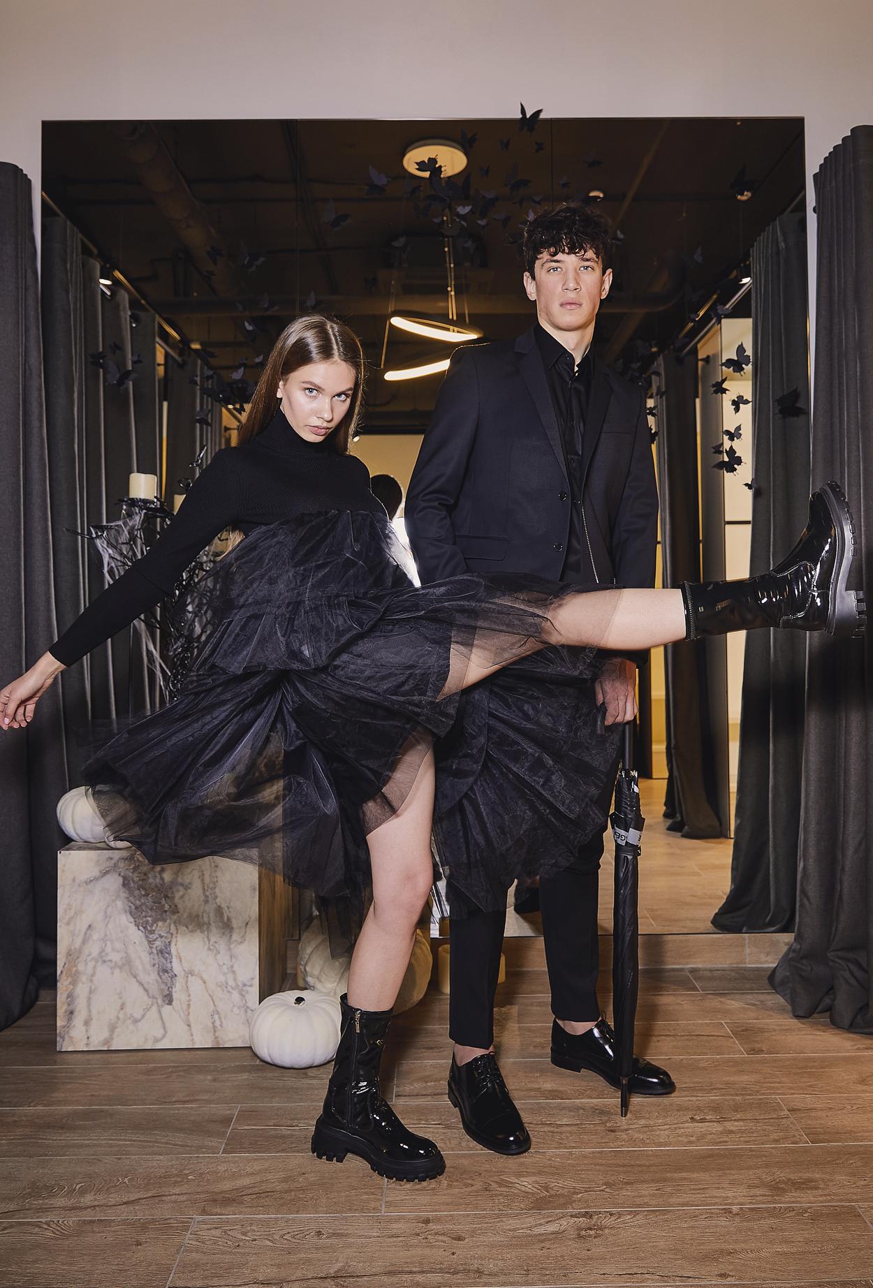 Boulevard concept store: TOTAL BLACK на Halloween со скидкой 20%